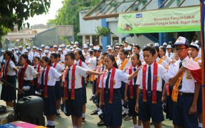 Serunya Belajar Berdemokrasi di SMP Strada Bhakti Utama